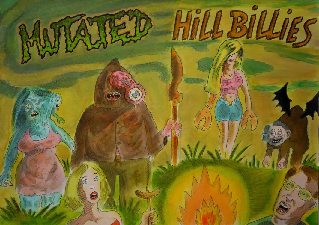 MUTATED HILLBILLIES ! ( colored) by Glamvampyre