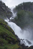 Waterfall Norway V by Seluias-stock