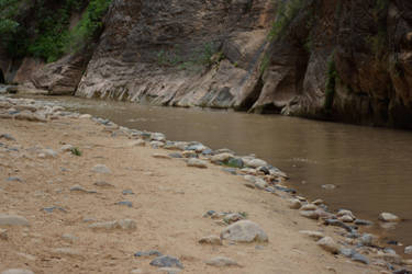 Canyon creek by Seluias-stock