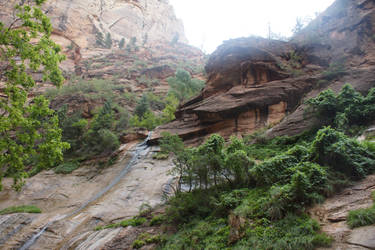 Zion Canyon I by Seluias-stock