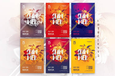 Summer Flyer Template by ranvx54