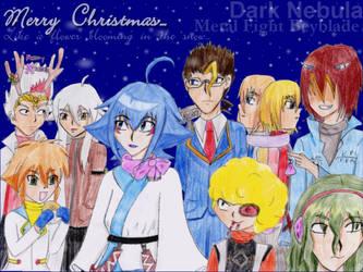 Dark Nebula Christmas by LunaQuiche