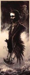 Edgar Allan Poe by AVallois