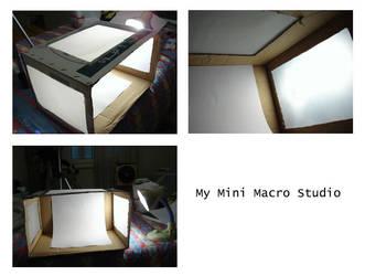 My Mini Macro Studio by sabb0ur