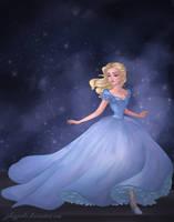 Cinderella 2015 by archibaldart
