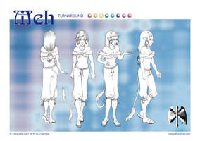 'Meh' Turnaround Print by Meajy