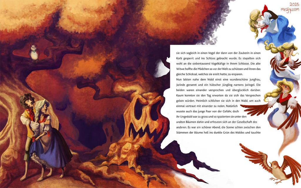 Joringe and Jorinde Page 2 by Meajy