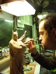batman by rieraescultura-art