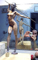 Felina by rieraescultura-art