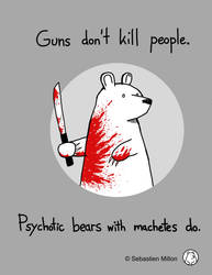 Machete Bear. by sebreg