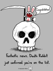 Death Rabbit by sebreg