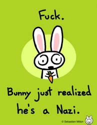 Bunny's a Nazi. by sebreg