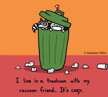 Living in a Trashcan by sebreg