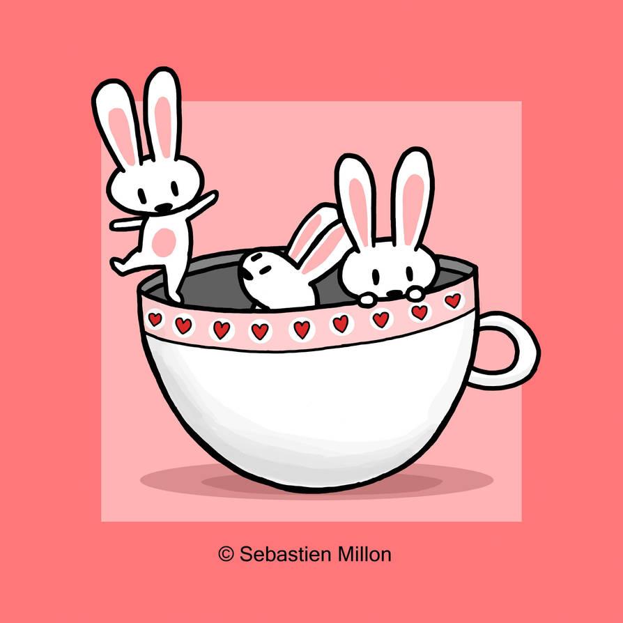 Teacup Bunny Dance by sebreg