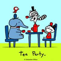 Tea Party. by sebreg