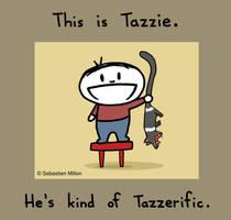 Tazzie's Tazzerific. by sebreg