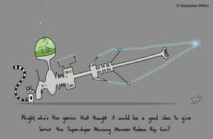 Lemur's New Gun by sebreg