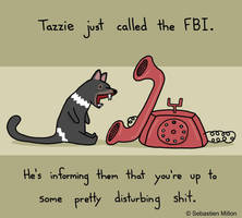 Tazzie Calls the FBI by sebreg