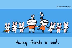 Having Friends is Cool by sebreg