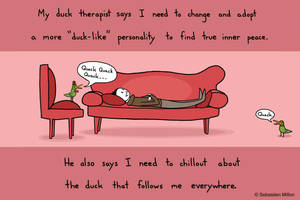 Duck Therapy by sebreg