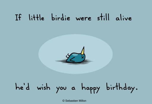 Happy Birthday Birdie by sebreg