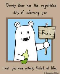 Fail Bear by sebreg