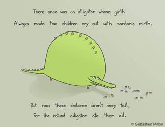 The Rotund Alligator by sebreg