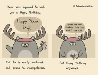 Happy Moose Day by sebreg