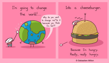 I'm Going To Change the World by sebreg