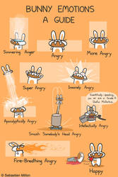 Bunny Emotions by sebreg