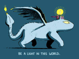 Be A Light Feat. Cat Dragon and Hero Princess Bear by sebreg