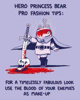 Hero Princess Bear Fashion Tips by sebreg