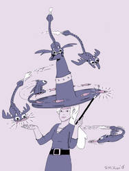 Feeding the Cat Dragons by sebreg