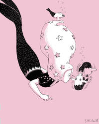Mermaid and Merbears by sebreg