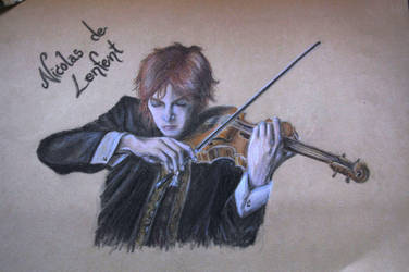 The Mad Violinist by zaishu
