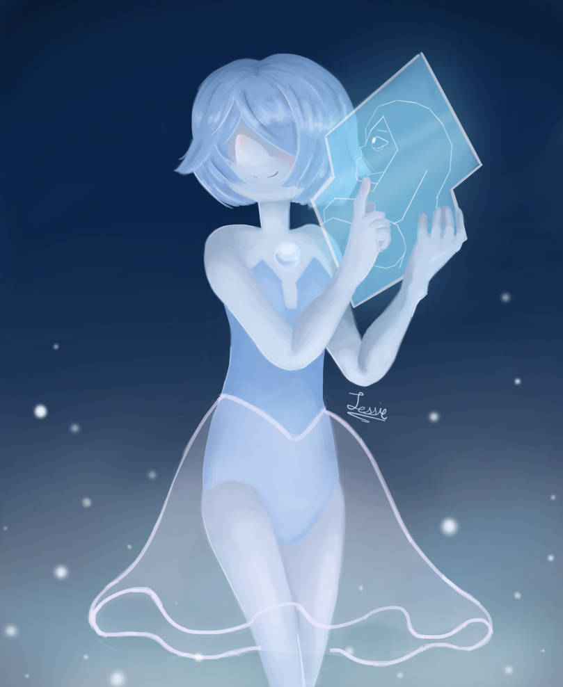 After the episode Together Alone, I ended up loving Blue and Yellow Pearl more than I already have.  Especially Blue Pearl.  I knew before that she drew what was going on in court, but li...