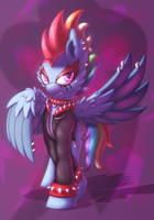Punk Rainbow Dash by Shad0w-Galaxy