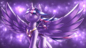 Night Breeze [MLP Twilight] by Shad0w-Galaxy
