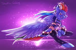 K/DA Rainbow Dash / Akali [MLP x LoL] by Shad0w-Galaxy