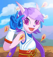 Freedom Planet  Lilac by TrueSomBee