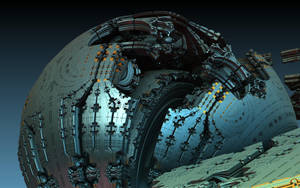 Building The Moon by HalTenny