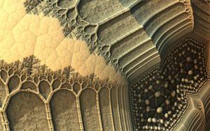 Cauliflower Trees and Bones by HalTenny