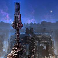 Farside Outpost Seven by HalTenny