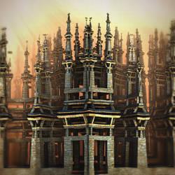 Castle by HalTenny