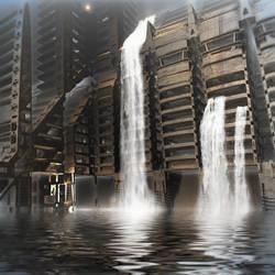 Midnight at the Dam by HalTenny