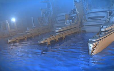 Pinski Boatworks by HalTenny