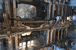 Third Floor Balcony by HalTenny