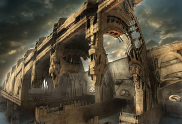 Rotted Bridge by HalTenny