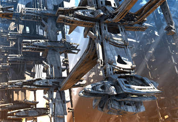 Stellar Express Ship Company by HalTenny