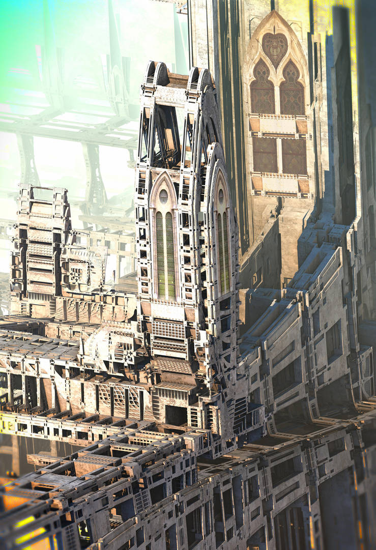 Temple of Fractology by HalTenny